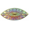 Celestial Sew-on Stone 10pcs Navette 18x40mm Sun Aurora Borealis